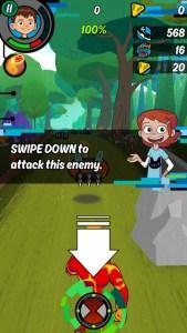 Ben 10: Up to Speed gameplay is pretty straightforward
