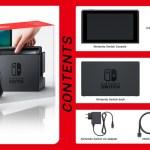 NintendoSwitch Box Content
