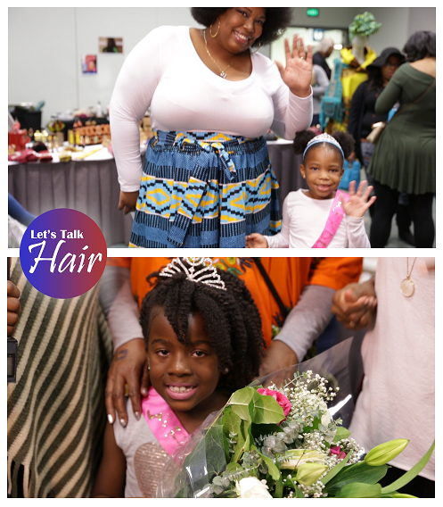 Little Miss Afrolicious pageant on Lets Talk Hair TV