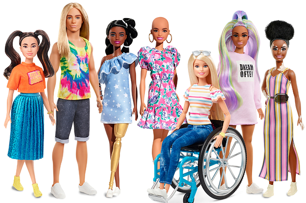 body diverse Barbie