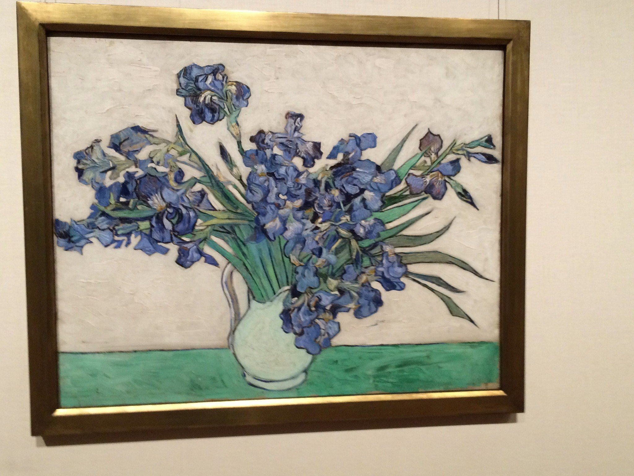 Art review van gogh irises and roses the metropolitan museum of van gogh irises 1890 oil on canvas 29 x 36 1 izmirmasajfo