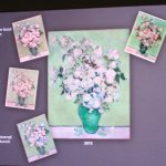 Dated photos show fading from pink to white of van Gogh's roses
