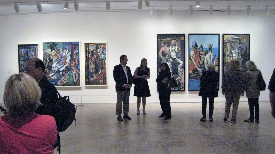 Max Beckmann in New York, exhibition at Metropolitan Museum, NY, October 19-2016 -February 20, 2017