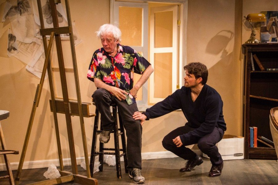 Austin Pendleton as Paul and Eric Joshua Davis as David