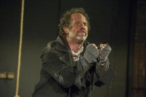 Benjamin Eett as the Mariner. Photo Carol Goldfarb