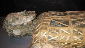 Burial ensemble of Dou Wan, detail.