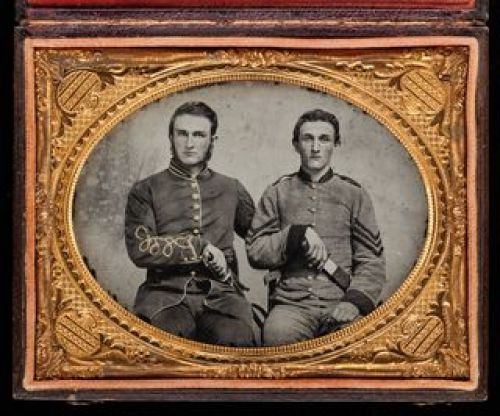 Captain Charles A. and Sergeant John M. Hawkins