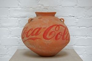 Ai Weiwei | Neolithic Vase with Coca Cola