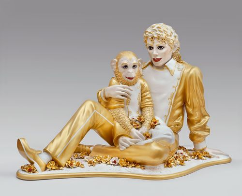 Jeff Koons | Michael Jackson and Bubbles