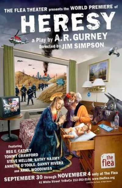 Gurney's Heresy at the Flea Theater
