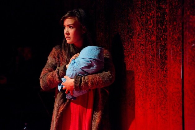 Allison Buck as Mary. Photo Hunter Canning