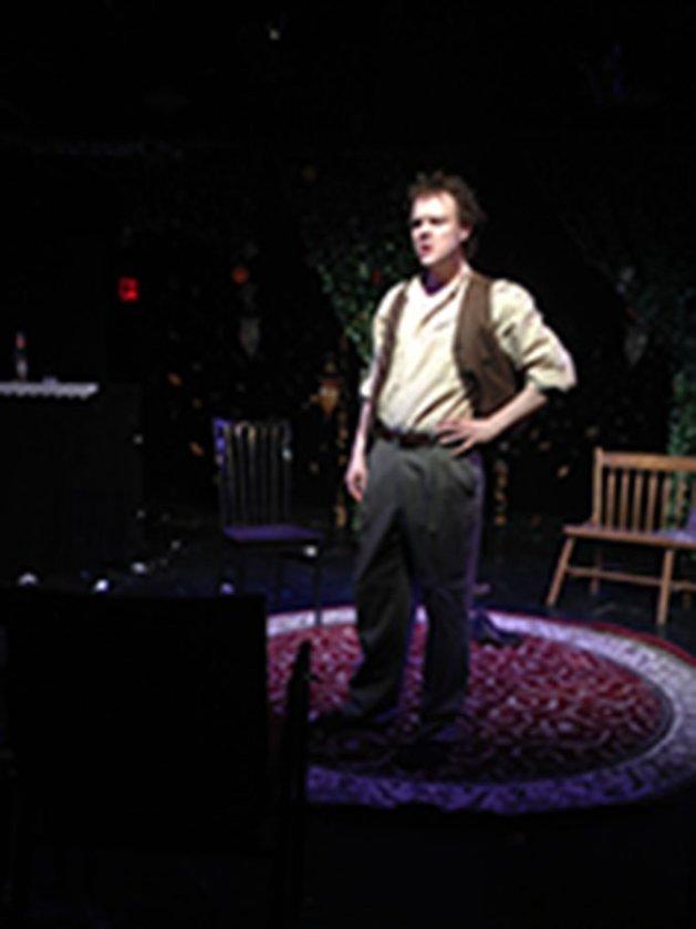 TWICE with Brandon Grimes as Smirnov. Photo: Louisa Pough