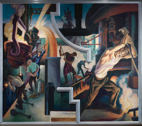 Thomas Hart Benton | Steel