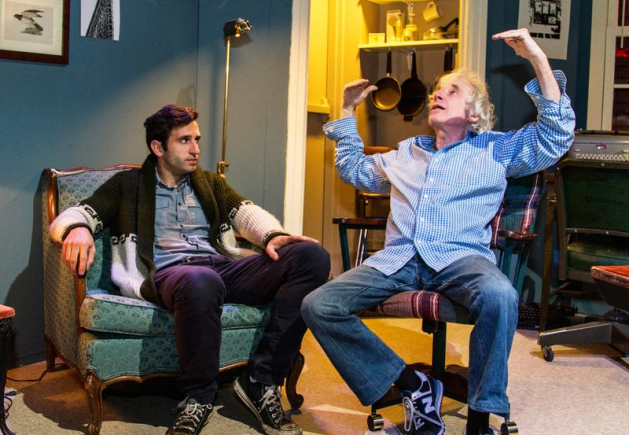 L-R Sean Walsh and Austin Pendleton. Photo Bobby Caputo
