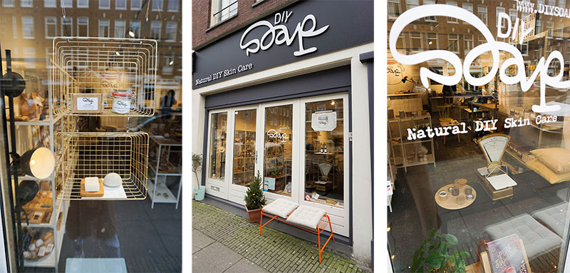 DIY SOAP Zero Waste Shop in Amsterdam
