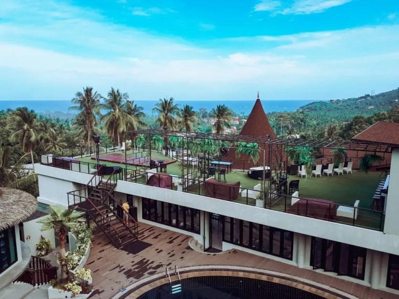 Tarna Align Hotel on Koh Tao, Thailand.