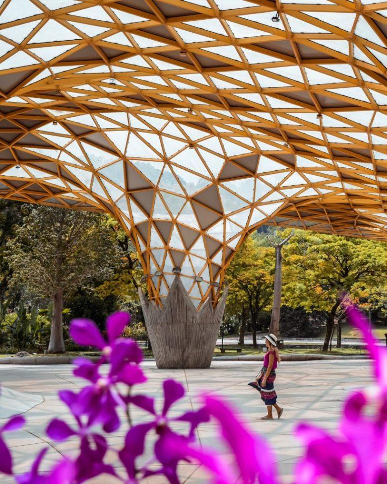 the beautiful botanical gardens located in Kuala Lumpur Malaysia