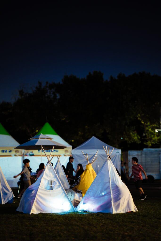 set up a tent in your backyard and be a tourist in your home town or city