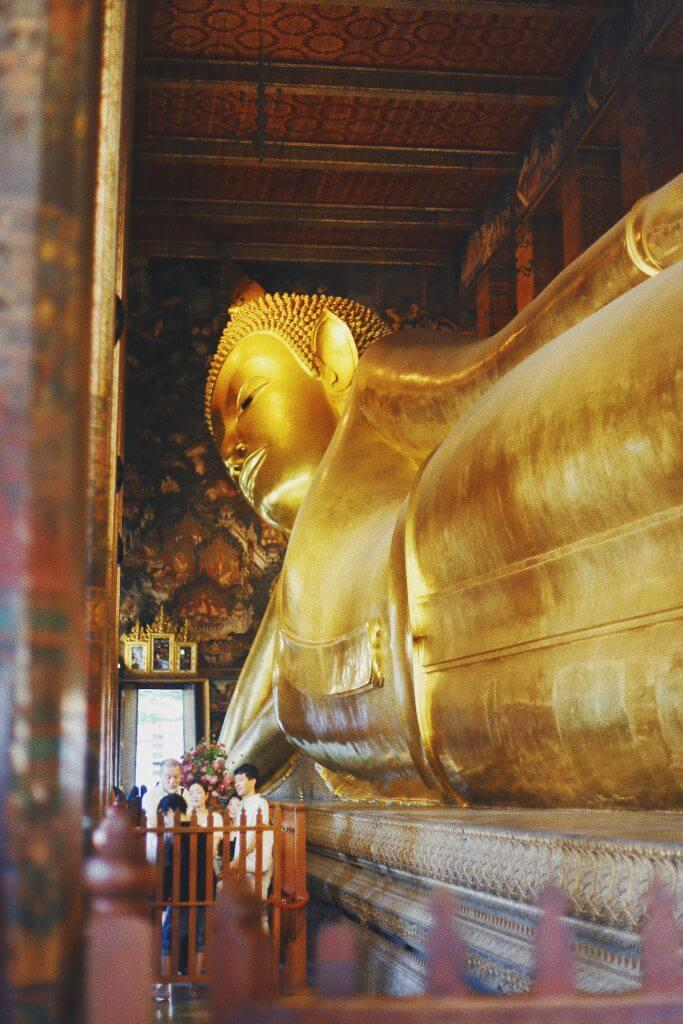 things to do in Bangkok is Wat Pho the reclining Buddha