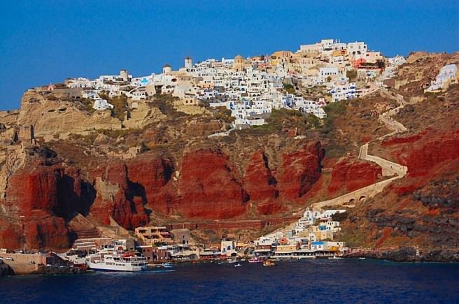 Oia, Santorini.