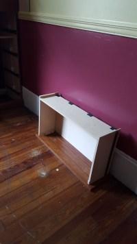 One lonely shelf