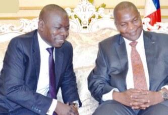 Centrafrique : Ce Monsieur a vendu la Socatel au feyman camerounais Amougou Bélinga de Vision4 !