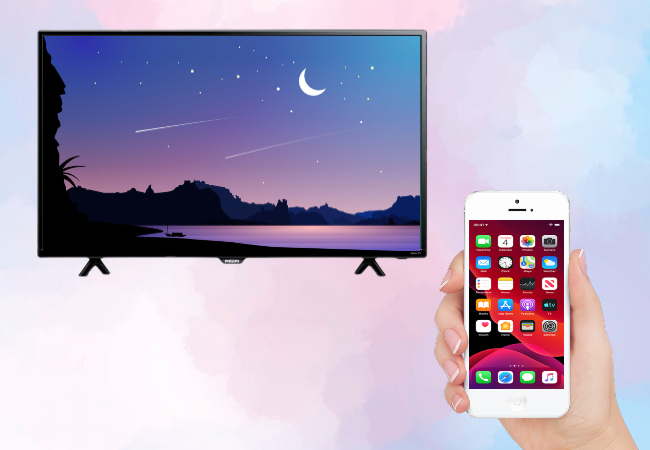 to mirror iphone to philips smart tv
