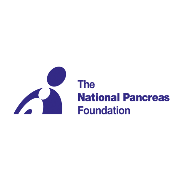 National Pancreas Foundation Logo In Blue