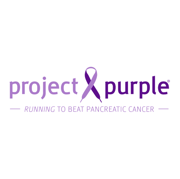 Project Purple logo in light and dark purple