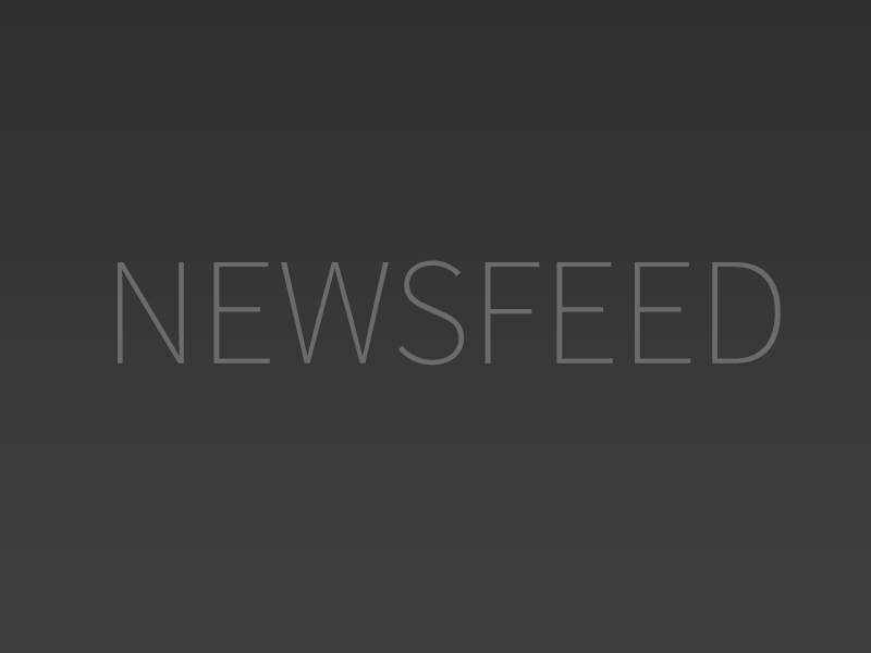 Newsfeed image, light gray text on dark gray background