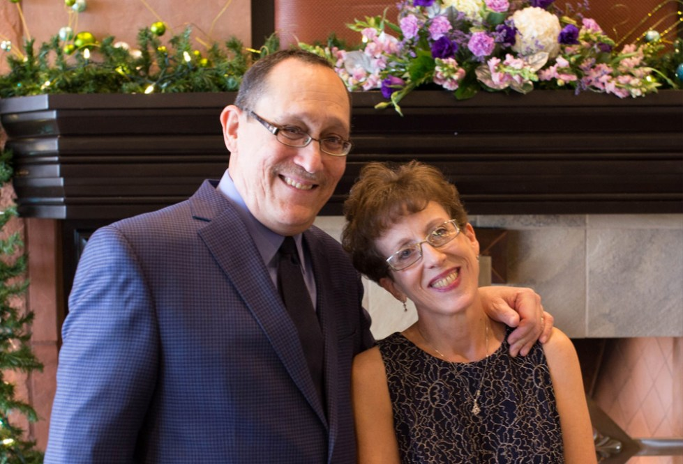 Pancreatic cancer patient Philip Zeblisky and his wife