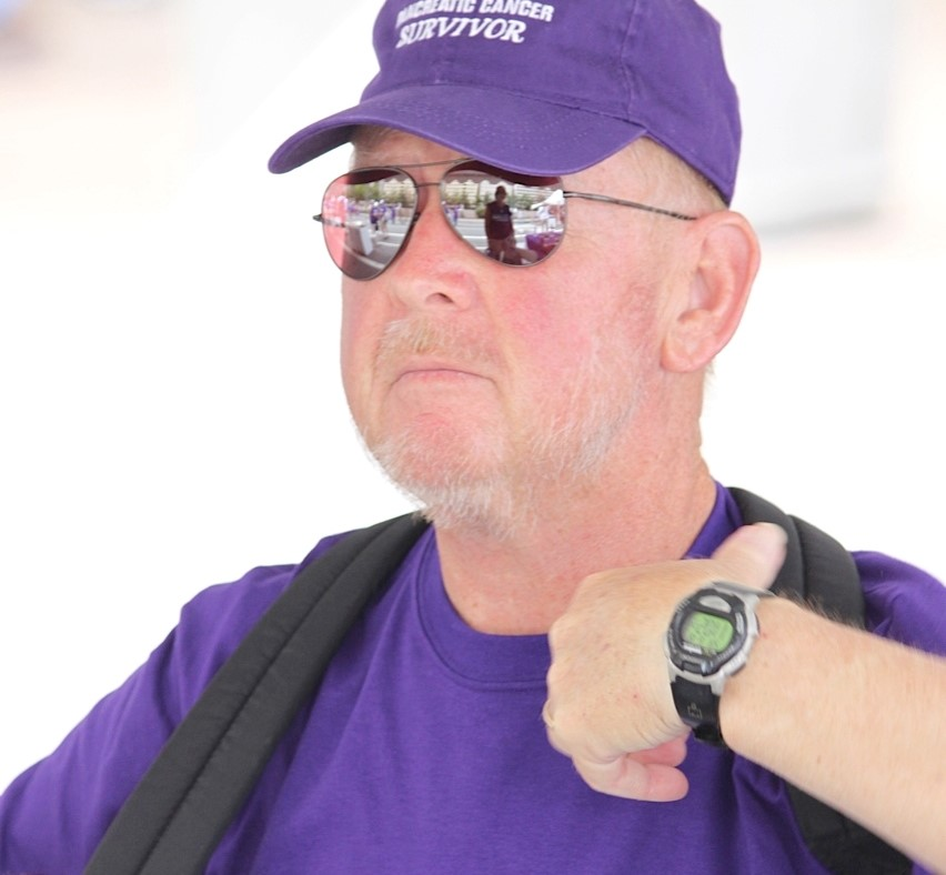 Pancreatic cancer survivor Bill Shrieves