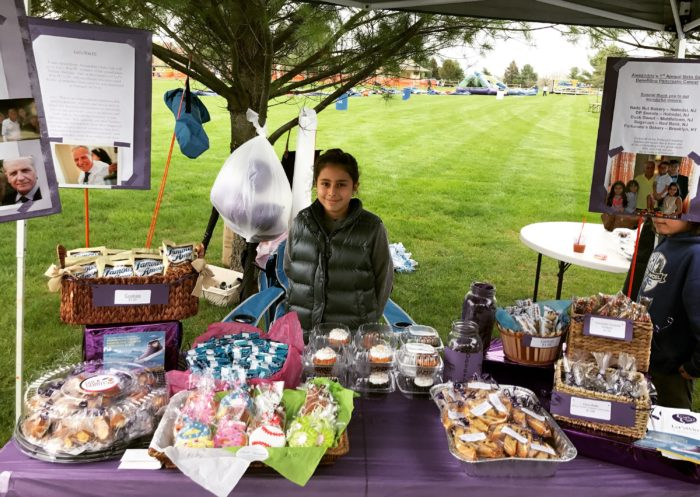 Holmdel, NJ, Girl Holds Bake Sale in Honor of her Grandfather, to Benefit Let's Win
