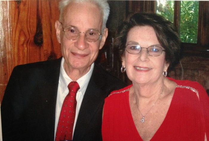 Irwin Greenblatt, pancreatic cancer patient, and his wife Audrey