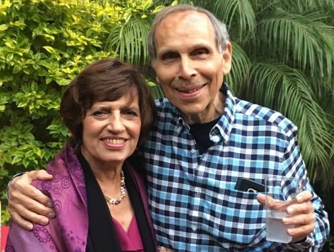 Pancreatic cancer patient Joel Weiss and his wife Debrah