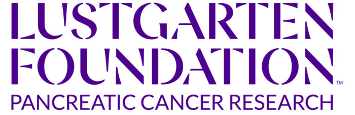lustgarten foundation logo in purple