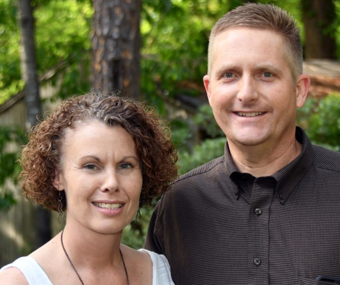Pancreatic cancer patient Brad Kerr and his wife April