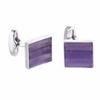 Touch Of Purple Cuff Links