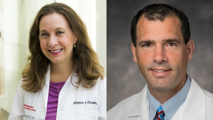 Dr. Allyson Ocean and Dr. Jordan Winter