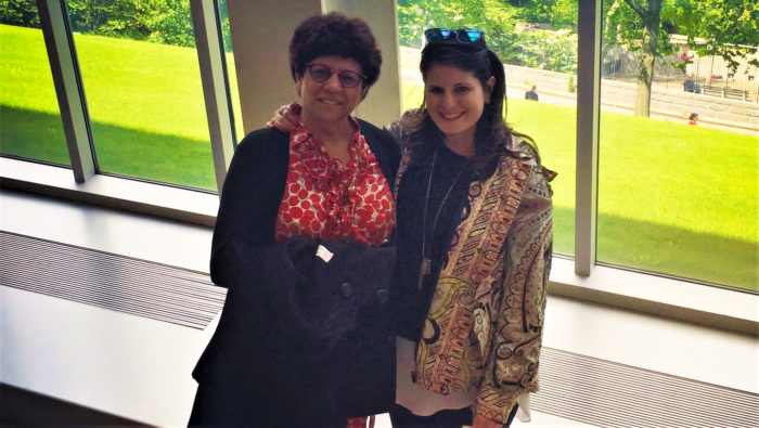 pancreatic cancer survivor Amy Zaterman and her mother Margot