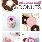 8 Donut Gift Wrap Ideas