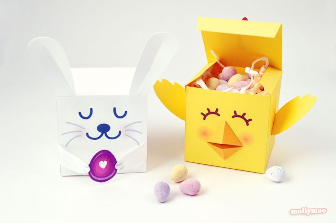 Printable Easter Treat Boxes