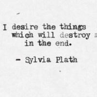 Sylvia Plath preferiva essere orizzontale