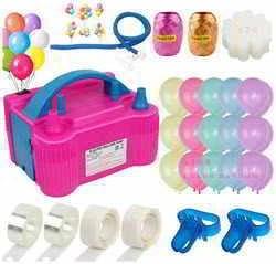 AerWo 130Pcs Balloon Pump Electric Balloon Air Pump Inflator