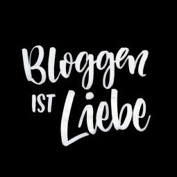 Bloggen ist Liebe - Lettering by martina johanna