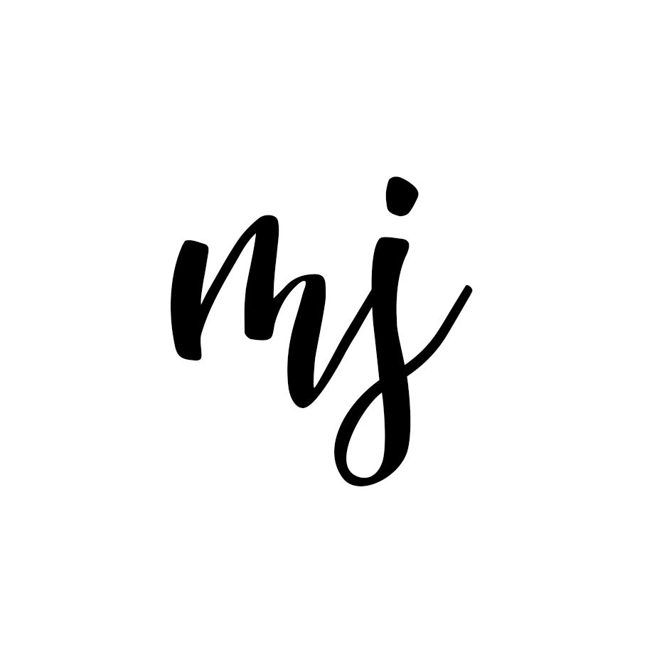 lettering mj