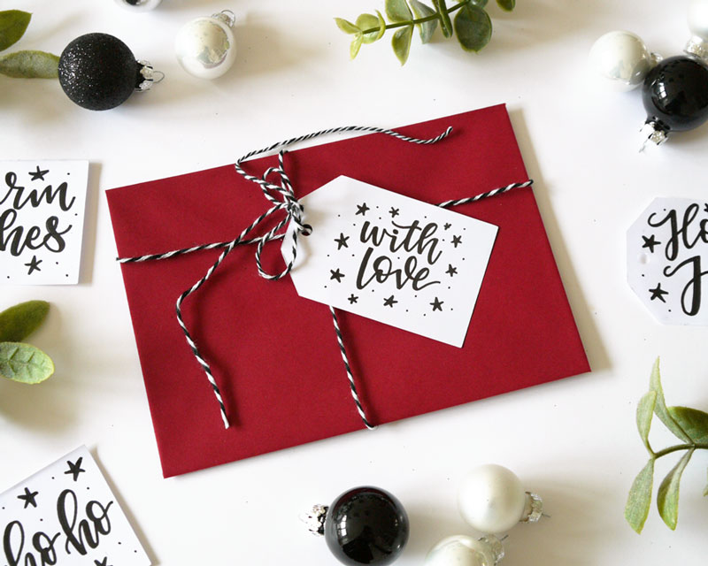 Handlettering weihnachtskarte Christmas Lettering Workshop Bremen