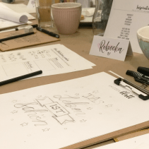 Handlettering Workshop Skizze