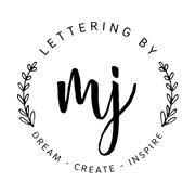 Logo von Lettering by Martina Johanna // Handlettering