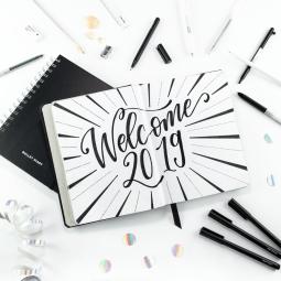 welcome2019, Handlettering by Martina Johanna // Lettering Workshops Bremen, Norddeutschland